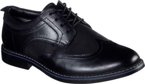 Skechers Bregman Modeso Lace Mens Shoes Black